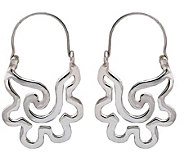 Novica Artisan Crafted Sterling Aztec SeashellDangle Earrings - J109390