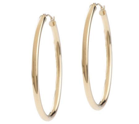 Qvc large hoop earrings