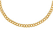 Milor 20 Polished Curb Link Necklace, 14K Gold13.10g - J308990