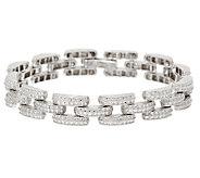 Sterling Silver 6-3/4 Diamond Cut Bracelet by Silver Style - J320990