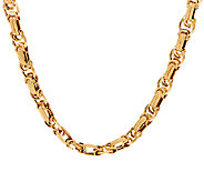 14K Gold 20 Dimensional Byzantine Necklace, 17.0g - J321590