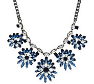 Susan Graver Starburst Statement Necklace - J326990