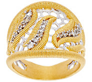 Genesi by Mario Buccellati 18K Clad Tapered Ring - J330190
