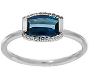 As Is Jane Taylor Barrel Cut Gemstone Sterling Ring, 1.40 cttw - J333590