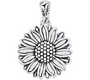 JAI Sterling Silver Olives Sunflower Enhancer - J352990