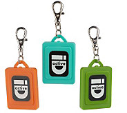 Lisa Jenks Utility ID Set of 3 Colored Charms - J35390