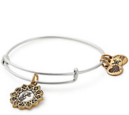 Alex and Ani Two-Tone Zodiac Charm Bangle - J381090