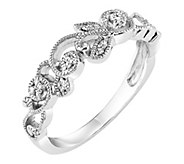 Affinity 14K Gold Diamond Floral Band Ring - J381790