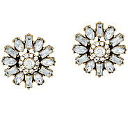 BaubleBar Crystal Dandelion Stud Earrings - J323691