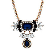 Susan Graver Drop Statement Necklace - J326991