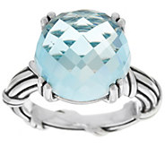 Peter Thomas Roth Sterling Fantasies 11.60 ct Blue Topaz Ring - J329191