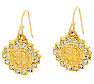 My Saint My Hero Brilliance Crystal Drop Earrings - J342991