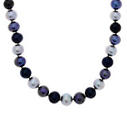 Honora Cultured Pearl Sterling 22 Graduated Necklace - J268592