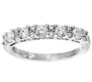 Anniversary Band Diamond Ring, Platinum 1/2 cttw by Affinity - J269392