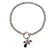 Barbara Bixby Sterling & 18K Eastern Chain 11 Anklet - J295792