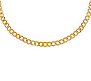 Milor 22 Polished Curb Link Necklace, 14K Gold14.20g - J308992