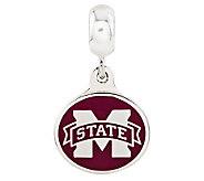 Sterling Silver Mississippi State University Dangle Bead - J314992