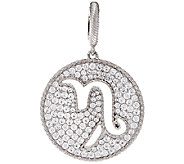 Judith Ripka Sterling 2.60 cttw Diamonique Zodiac Enhancer - J327392