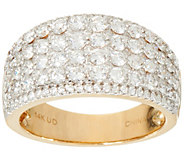 Milestone Diamond Band Ring, 14K Gold 2.00 cttw, by Affinity - J348092