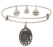 Alex and Ani Daughter Charm Bangle - J351892