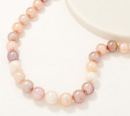 Honora Ming Cultured Pearl 20 Necklace, Sterling Silver - J352892