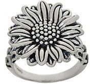 JAI Sterling Silver Olives Sunflower Ring - J352992