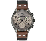 Timberland Mens Antiqued Stainless Multi-Function Watch - J380792