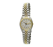 Seiko Ladies Stainless Steel Bracelet with a White Dial - J104293