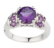 Choice of Sterling Round Gemstone Rings - J143793