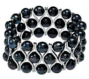 Honora Cultured Pearl 8.5mm Stainless Steel Stretch Bracelet - J270793