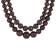 Linea by Louis DellOlio 2-row Graduated Bead Necklace - J296893