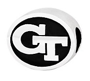 Sterling Silver Georgia Tech Bead - J300793