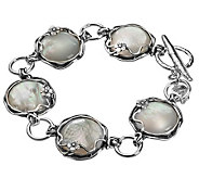 Or Paz Sterling Mother-of-Pearl Toggle Bracelet - J301493
