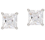 Diamonique 2.00 cttw Stud Earrings, Sterling - J326093