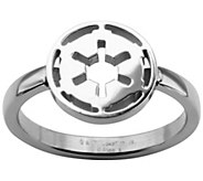 Star Wars Stainless Galactic Empire Symbol Cutout Ring - J342793