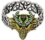 Kirks Folly Thor Dragon Celtic Knot Stretch Bracelet - J351493