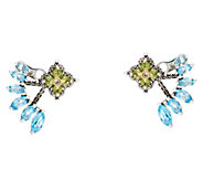 Barbara Bixby Sterling & 18K Lotus Flower Studs with Jackets - J334194