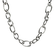 Sterling 18 Multi-texture Necklace by Or Paz 60.0g - J347094
