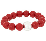 Simon Sebbag Sterling Silver & Gemstone Stretch Bracelet - J351094