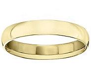 Womens 18K Yellow Gold 4mm Comfort Fit WeddingBand - J379294
