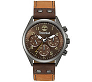 Timberland Mens Gunmetal Stainless Multi-Function Watch - J380794