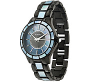 Honora Mother-of-Pearl Round Case Stainless Steel Bracelet Watch - J322495