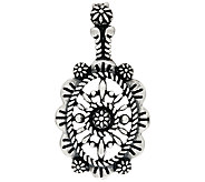 American West Sterling Silver Concha Design Enhancer - J323495