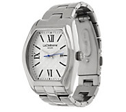 As Is Liz Claiborne New York Heritage Collection Steel Watch - J333095