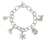 Catherine Galasso Christmas Blessings Charm Bracelet - J337695