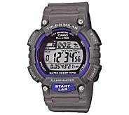 Casio Mens Gray Tough Solar Running Watch - J339295