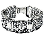 Sterling Silver Bold Link Bracelet by Or Paz 30.0g - J346195
