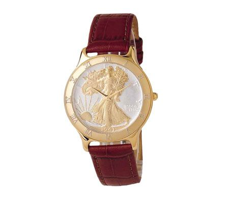 coinwatch walking liberty gold with tanleather