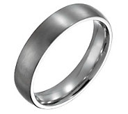 Forza Mens 5mm Steel Brushed Ring - J109496
