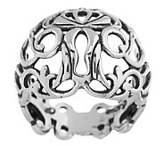 Carolyn Pollack Country Couture Sterling Ring - J265096